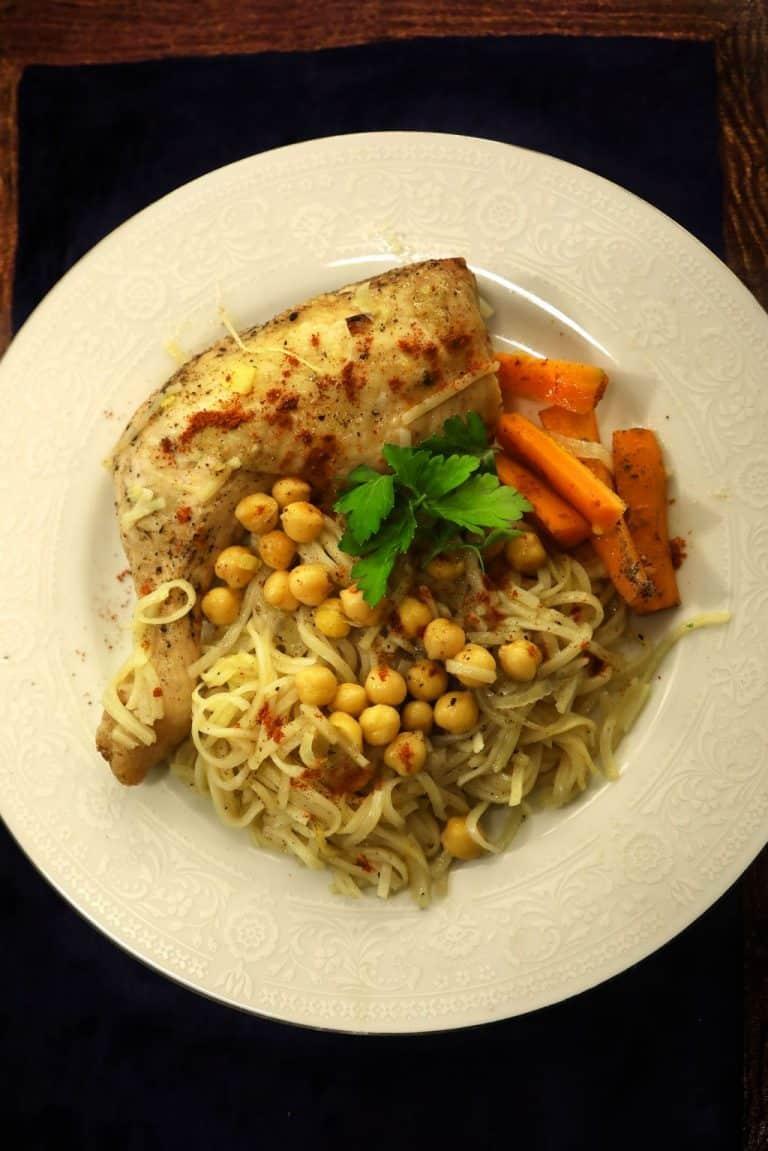 One Pot Chicken & Noodles