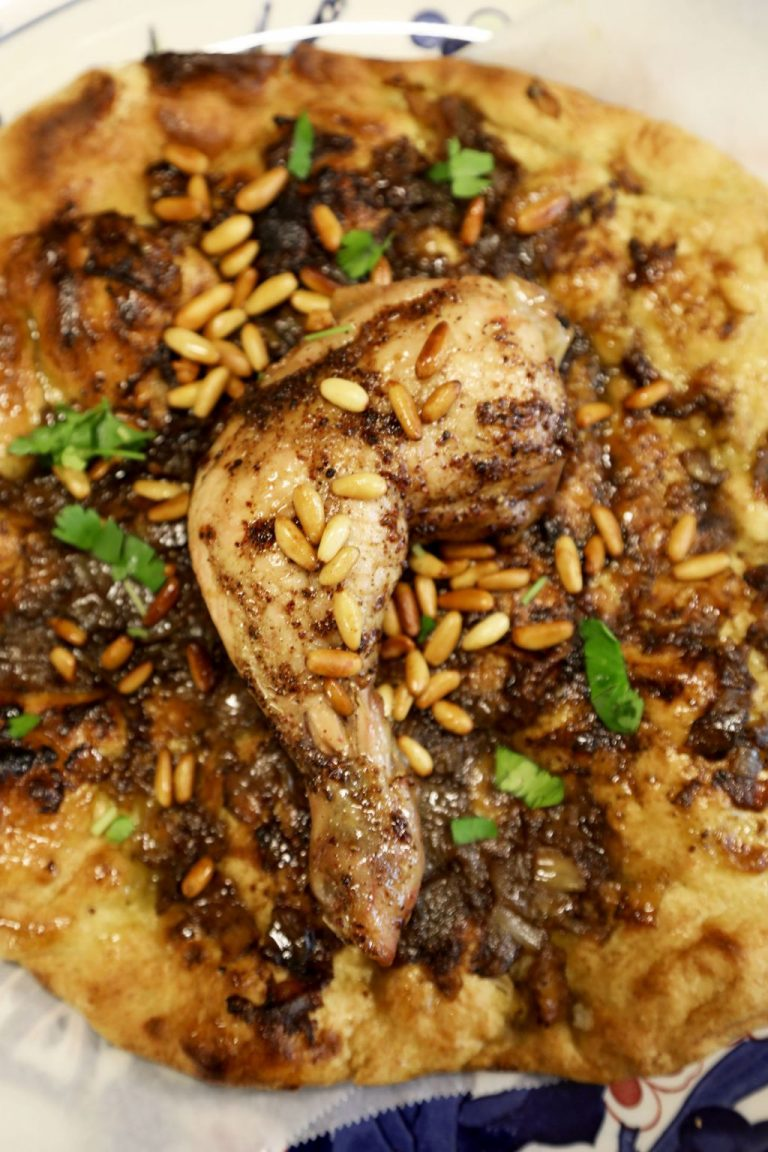 Musakhan (Chicken and Sumac Onions)