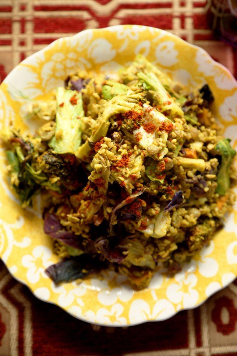Vegetable Tahini Salad