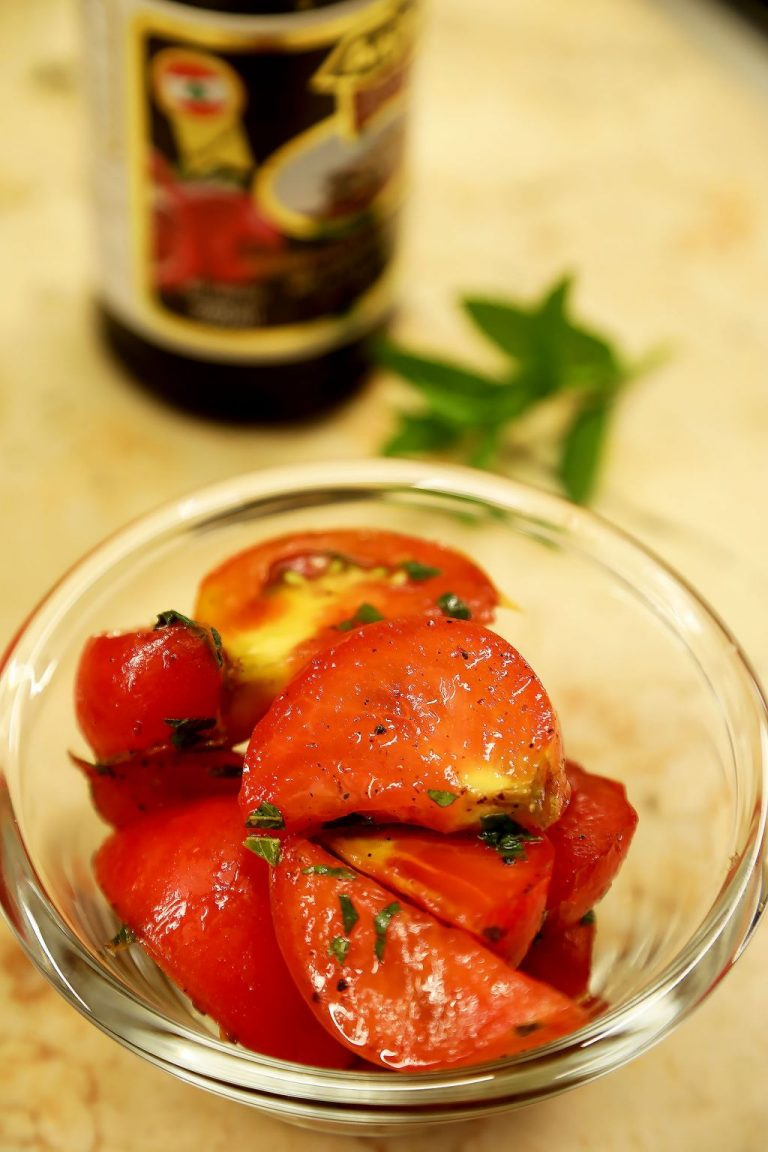 Tomato Salad With a Lovely Twist