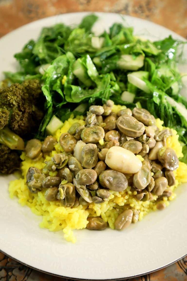 Fava Beans & Garlic