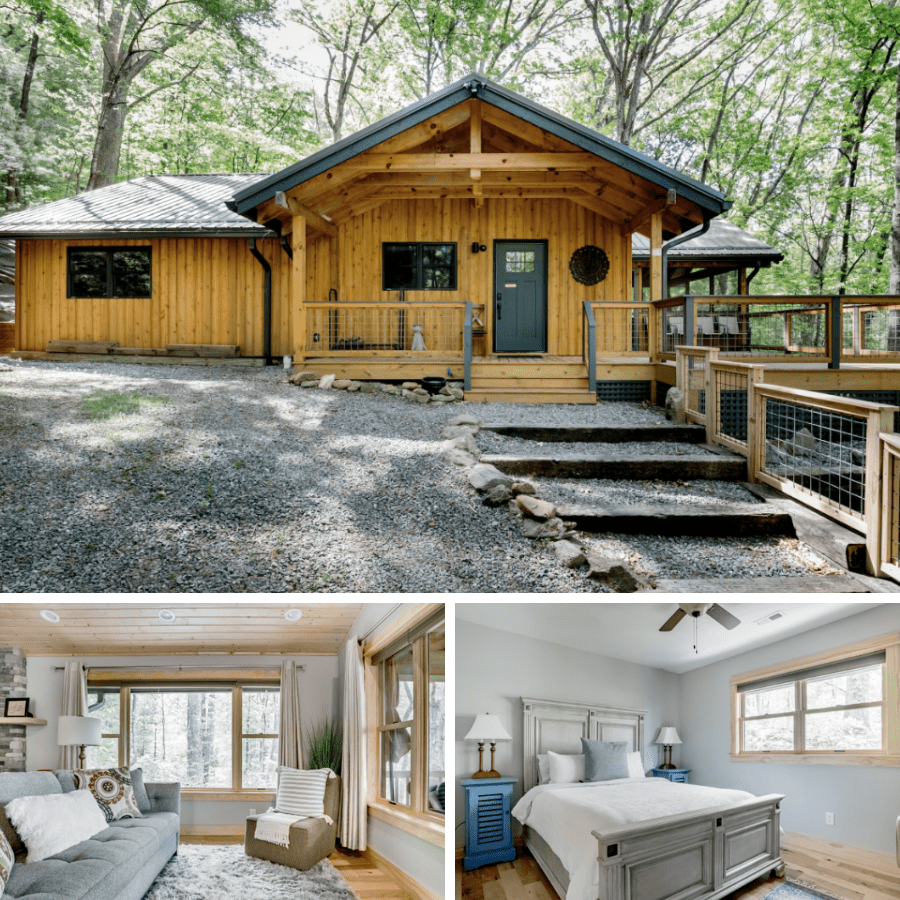 1. Luxury Cabins in Asheville NC