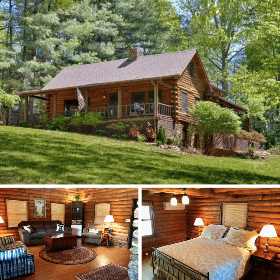 cabins in asheville nc