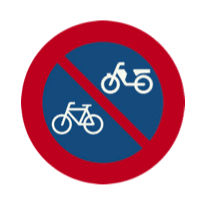 cycling parking not allowed amsterdam sign