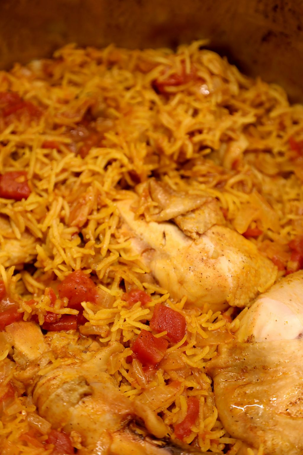 Kabsa Saudi Arabian Chicken Rice Chef Tariq