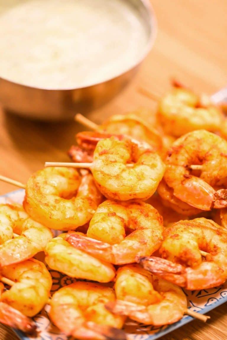 Spicy Summer BBQ Shrimp Recipe