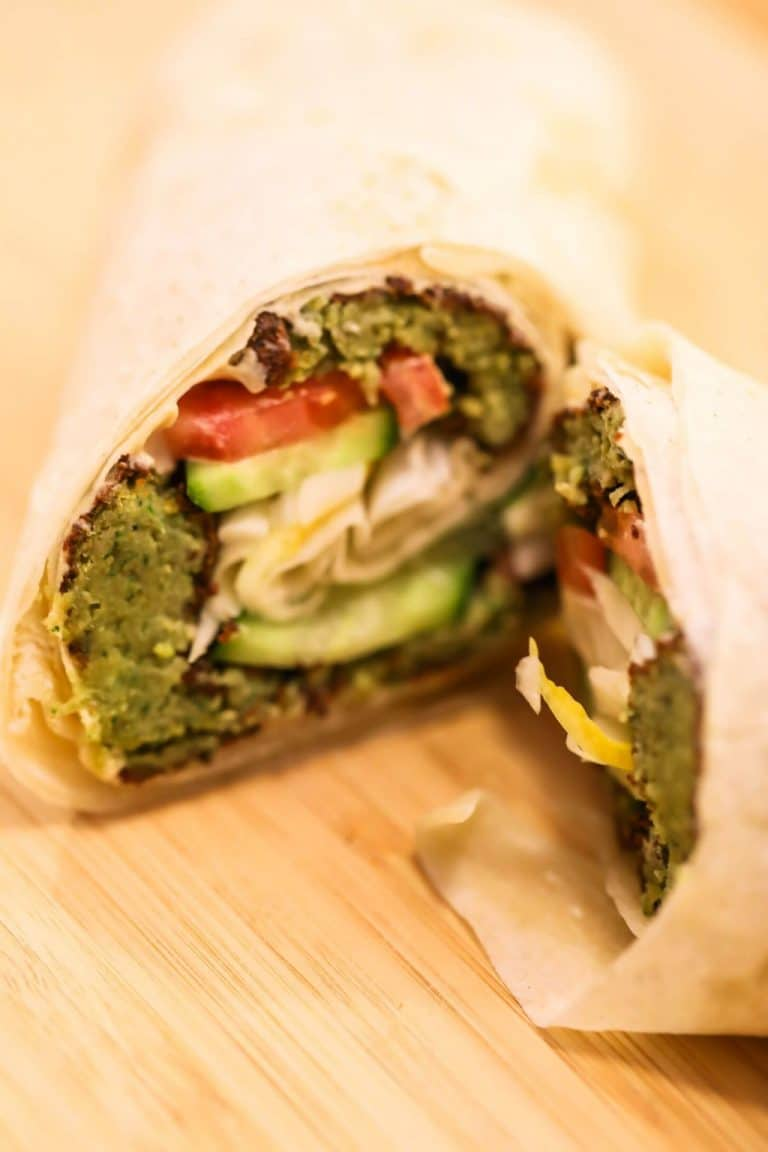 Falafel Wrap (Authentic, Simple & Tasty)