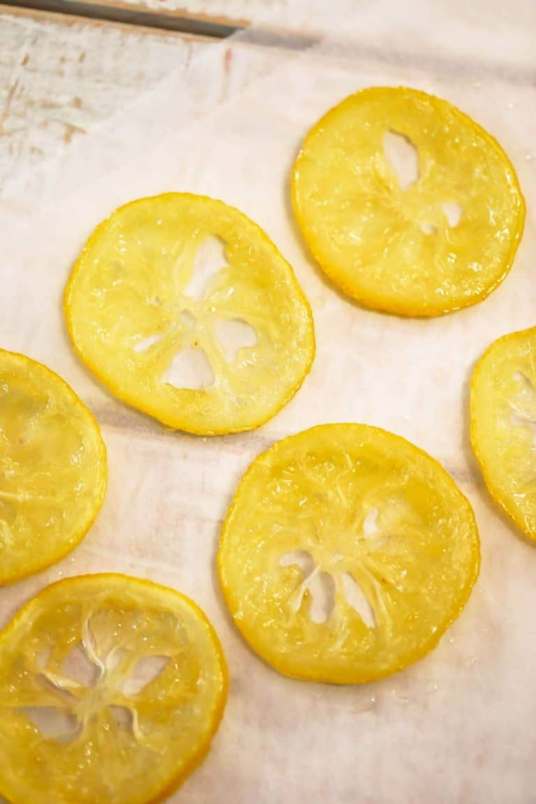 Candied Lemon Slices (Simple & Quick)