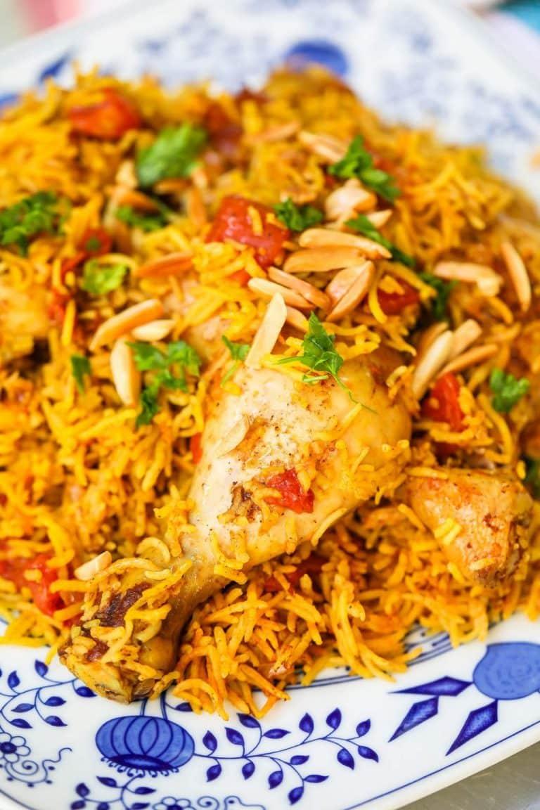 Kabsa (Saudi Arabian Chicken & Rice)