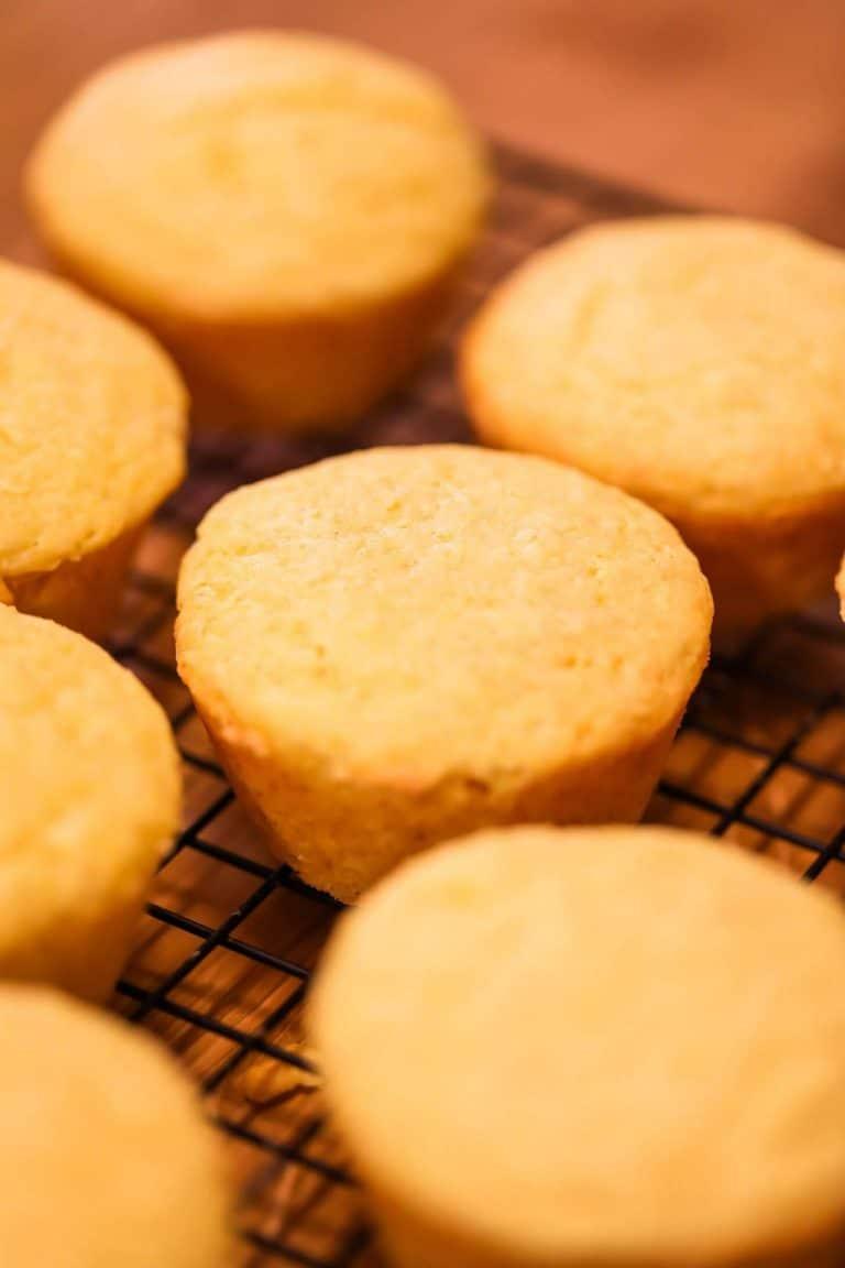 Cornbread Muffins (Simple & Homemade)