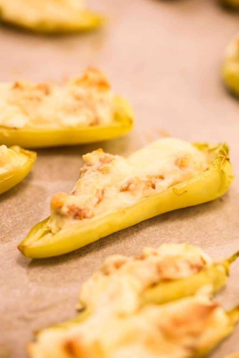 Spicy Cream Cheese Stuffed Peppers