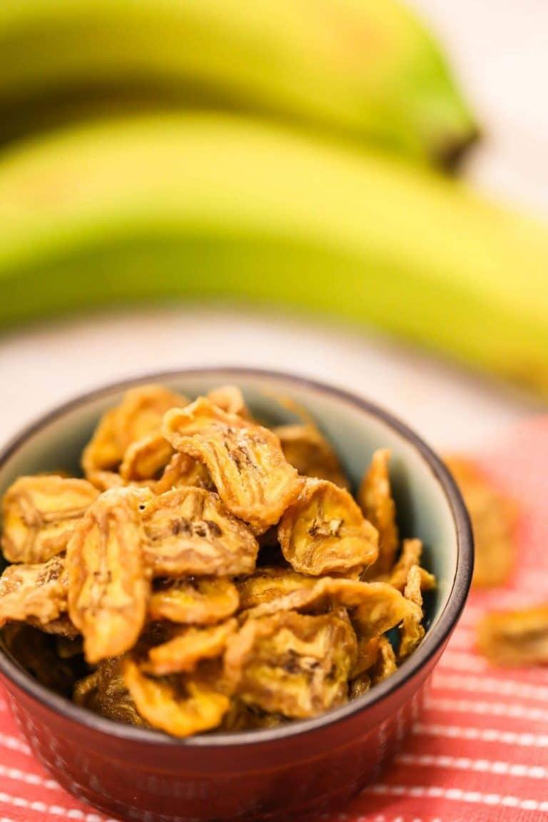 How to Make Banana Chips