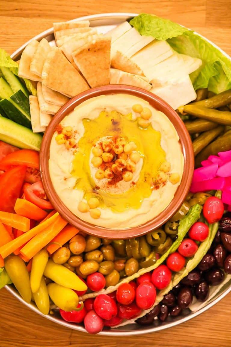 Simply Perfect DIY Hummus Platter