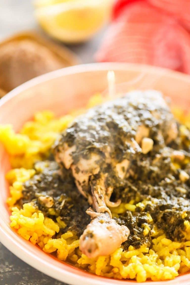 Molokhia Stew (Egyptian Jute Soup)