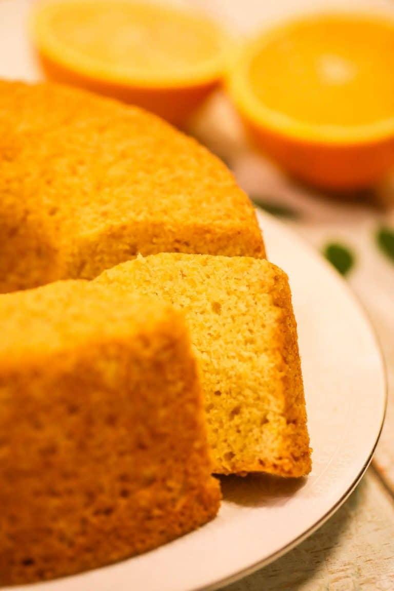 Easy Orange Juice Cake