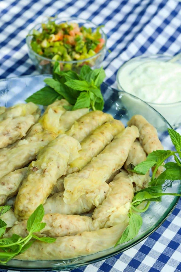 Malfouf (Stuffed Lebanese Cabbage Rolls)