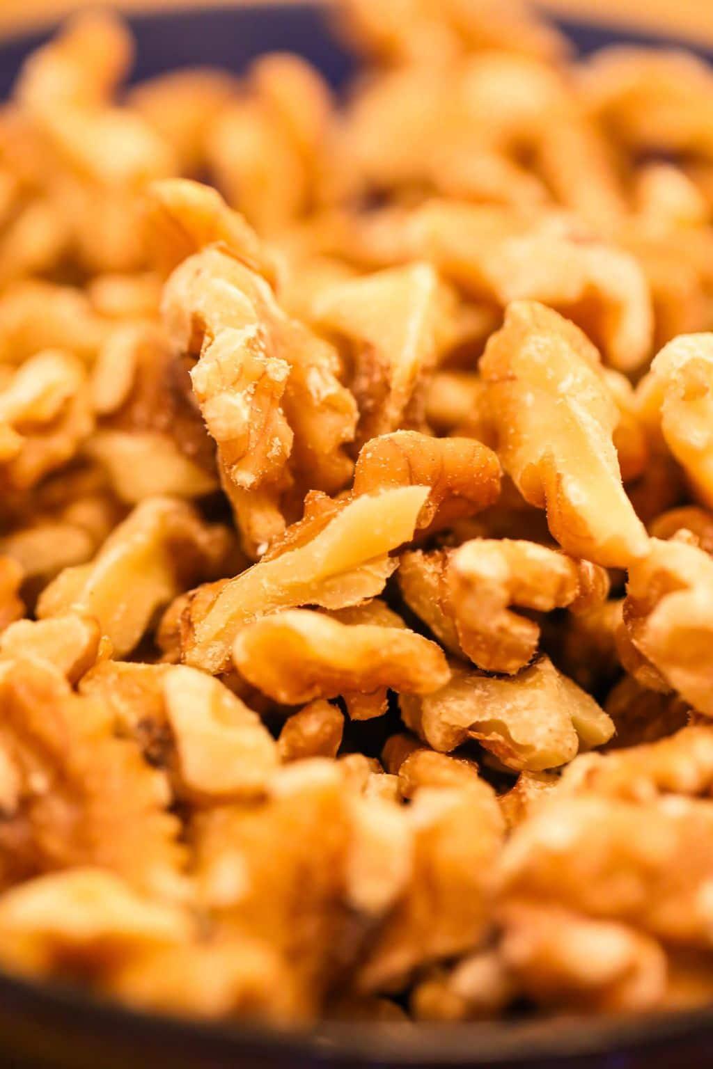 roasted walnuts