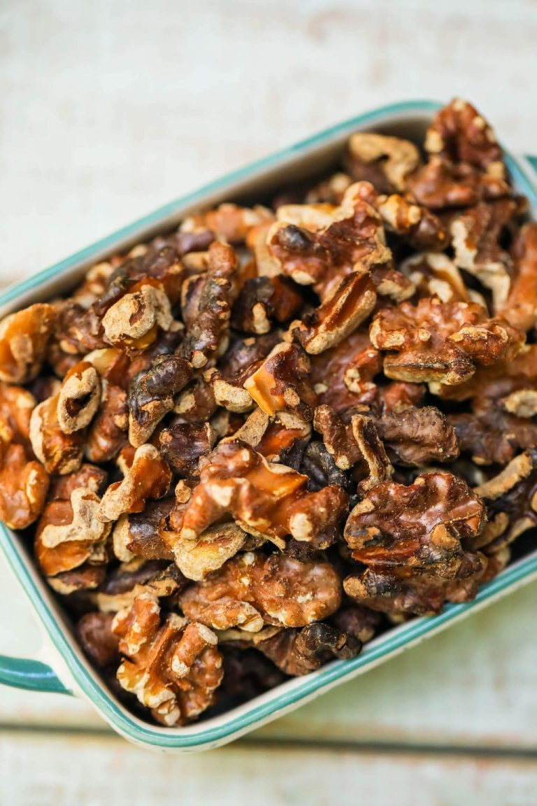 How to Make Roasted Walnuts