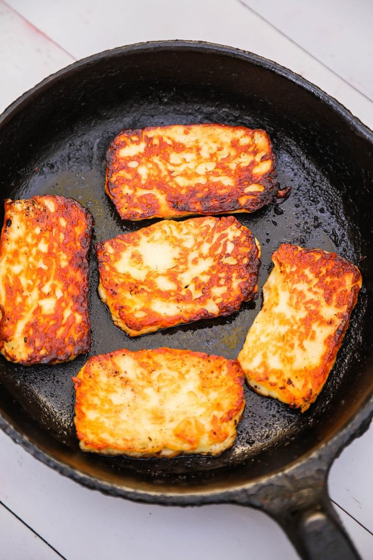Halloumi (Frying Cheese of the Middle East)