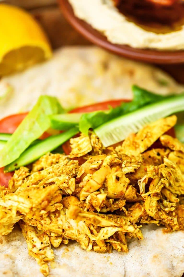 Easy Chicken Shawarma (Succulent & Tender)
