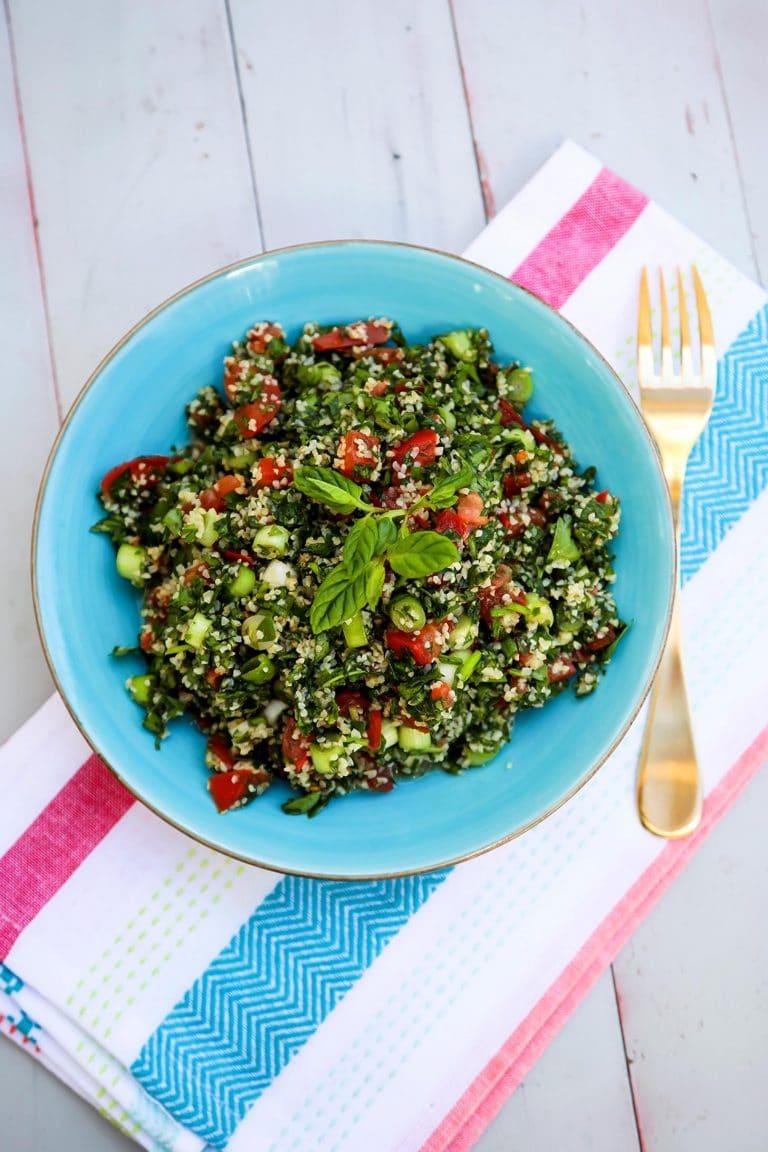 Tabouli Salad (The Lebanese Way)