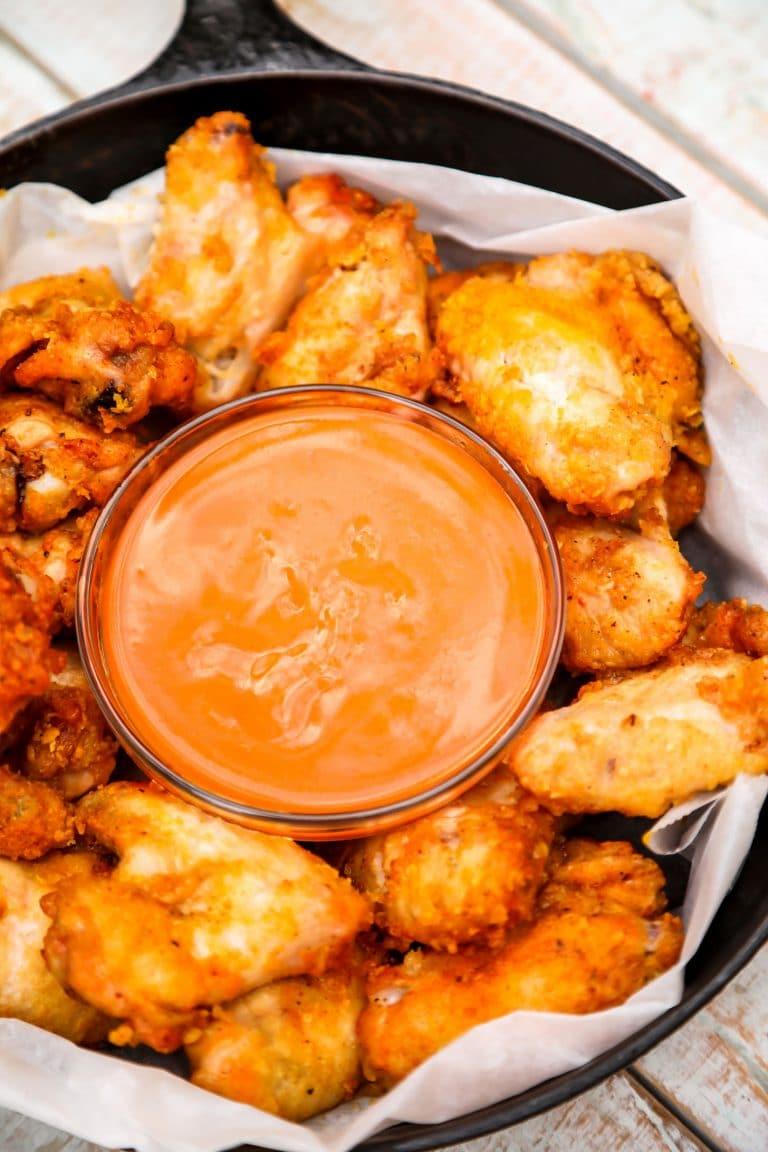 Salt and Vinegar Wings (Baked & Crispy)