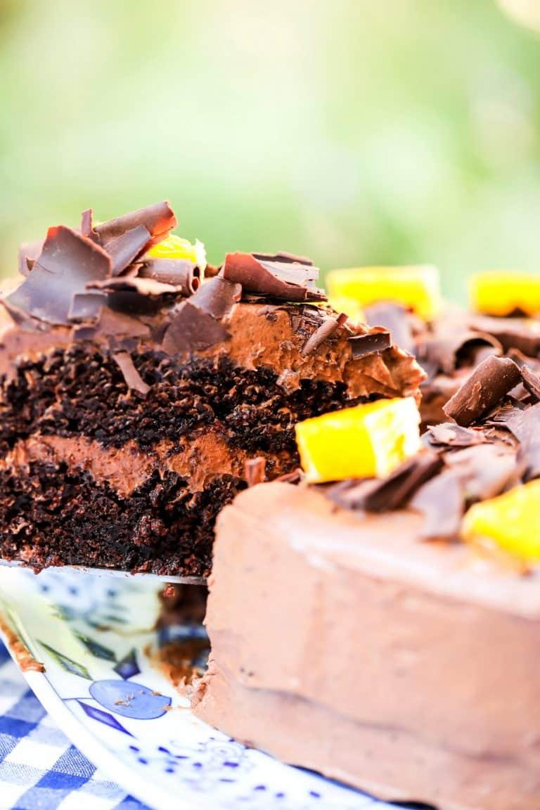 Chocolate Orange Cake (Rich & Moist)