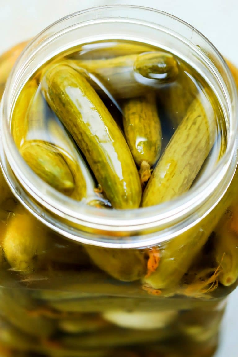Pickled Cucumbers (Quick, Easy & Tasty)