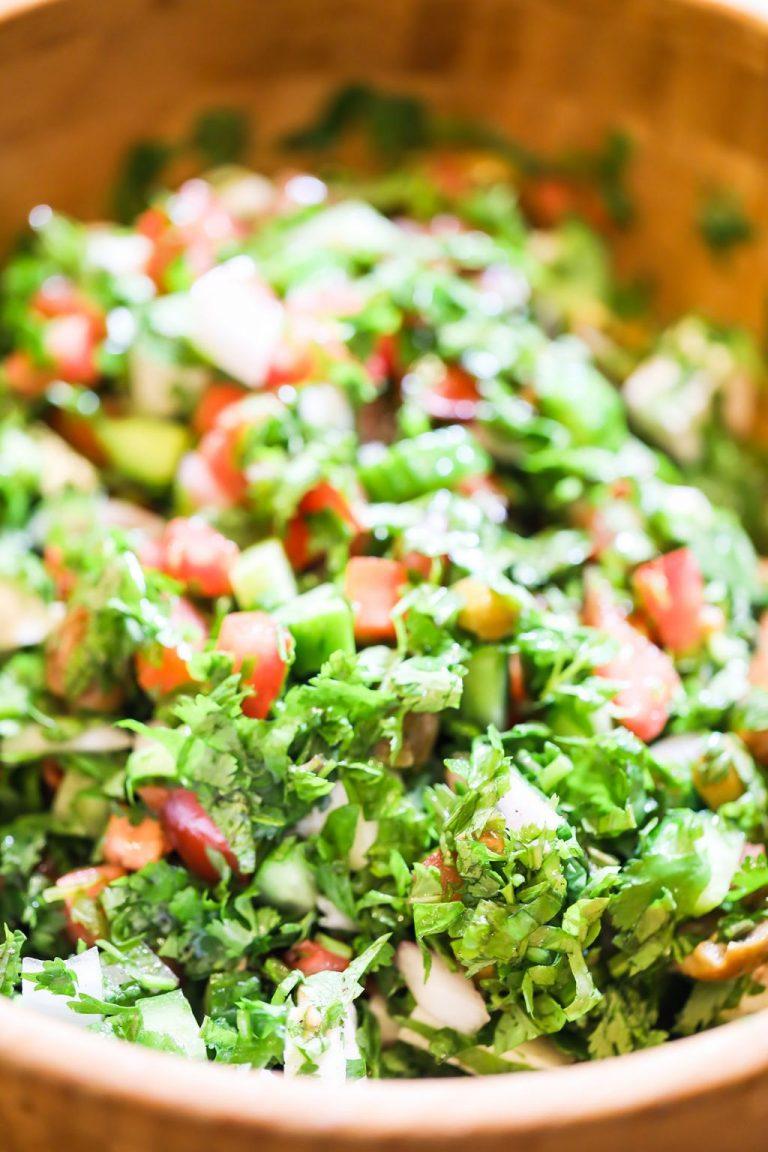Shepherd Salad (Traditional & Easy)