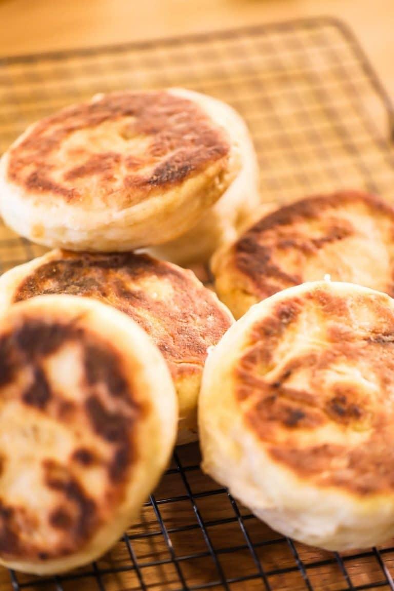 Tasty & Traditional Sourdough English Muffins