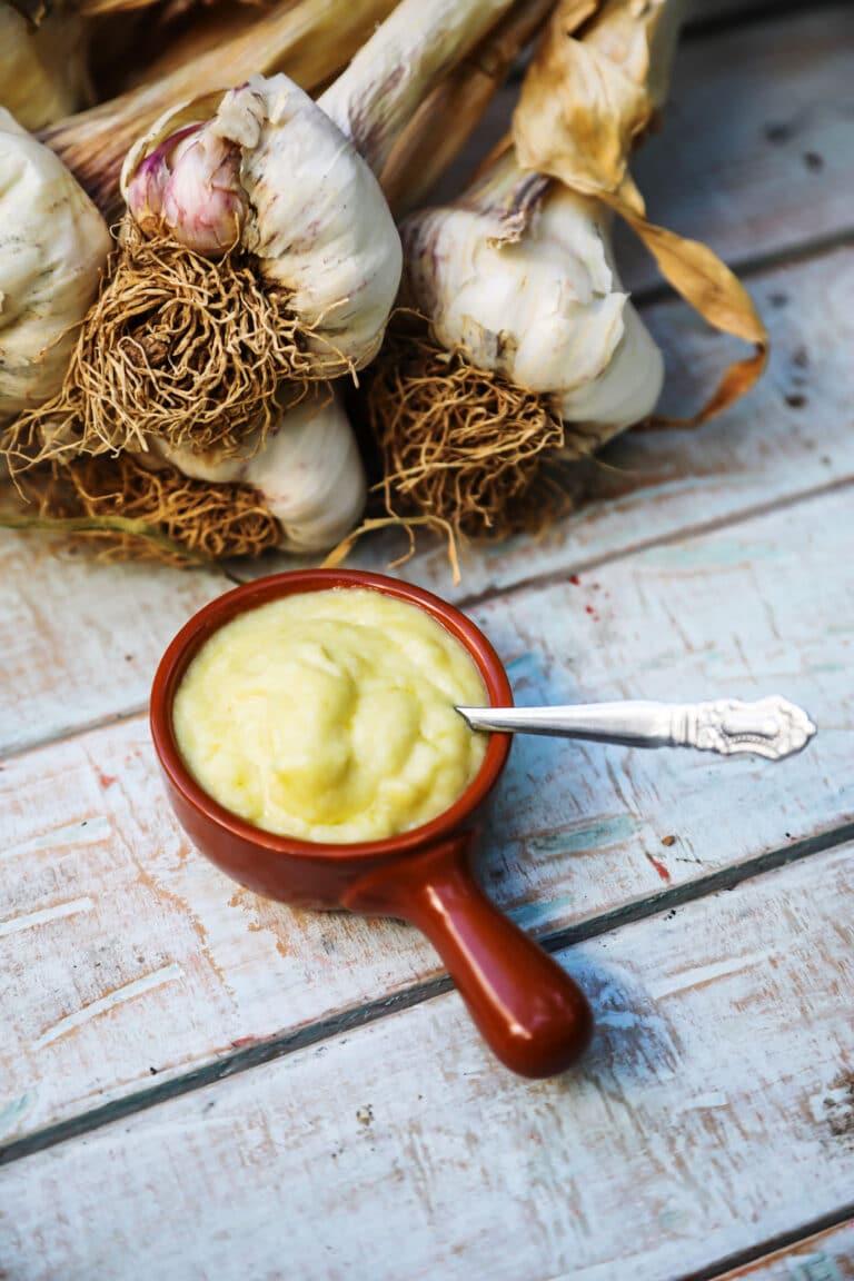 Garlic Paste (The Indispensable Elixir)